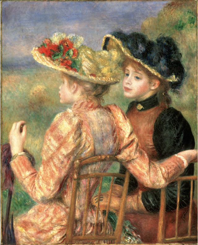 Renoir, Two Young Girls